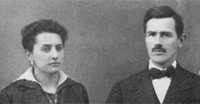 Family picture, Ida and Giuseppe Turicchia, the founders
